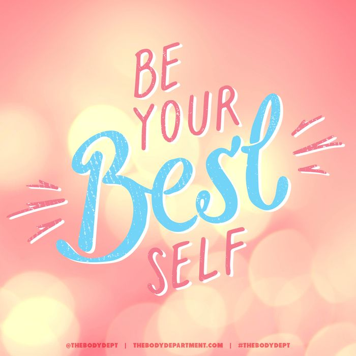 be your best self   Home Ec Life