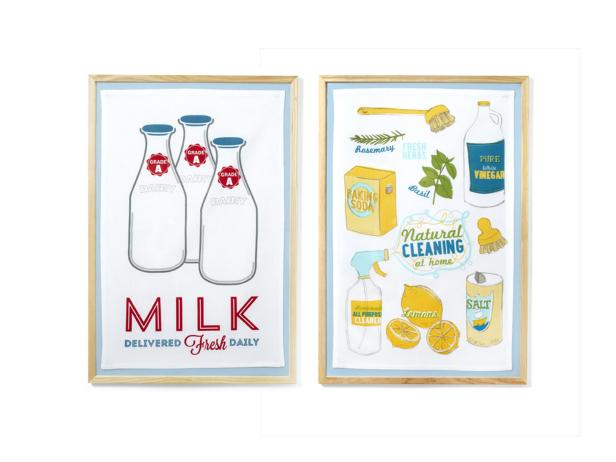 Framed Tea Towels